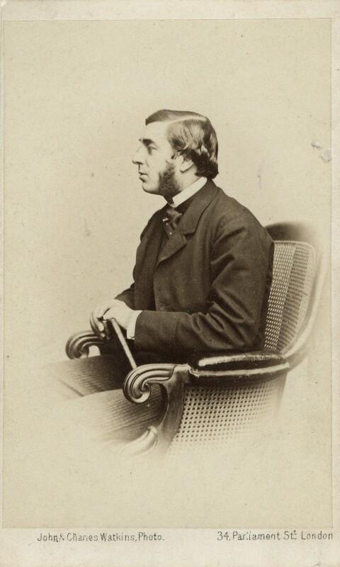 George Joachim Goschen, 1st Viscount Goschen, by John & Charles Watkins, or by  John Watkins, circa 1868 - NPG Ax8547 - © National Portrait Gallery, London