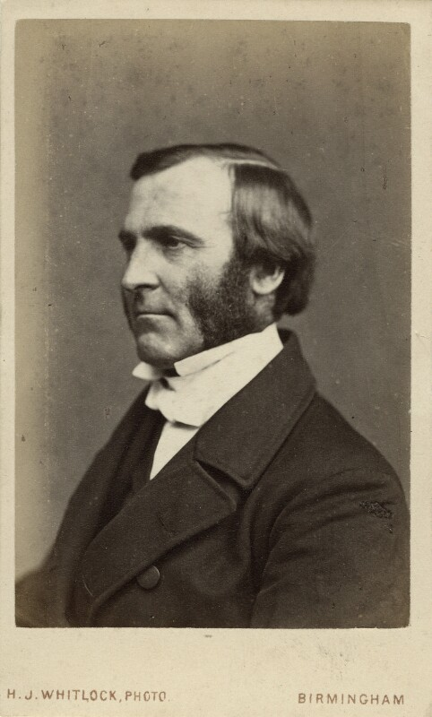 Frederick Temple, by Henry Joseph Whitlock, circa 1867 - NPG Ax38637 - © National Portrait Gallery, London