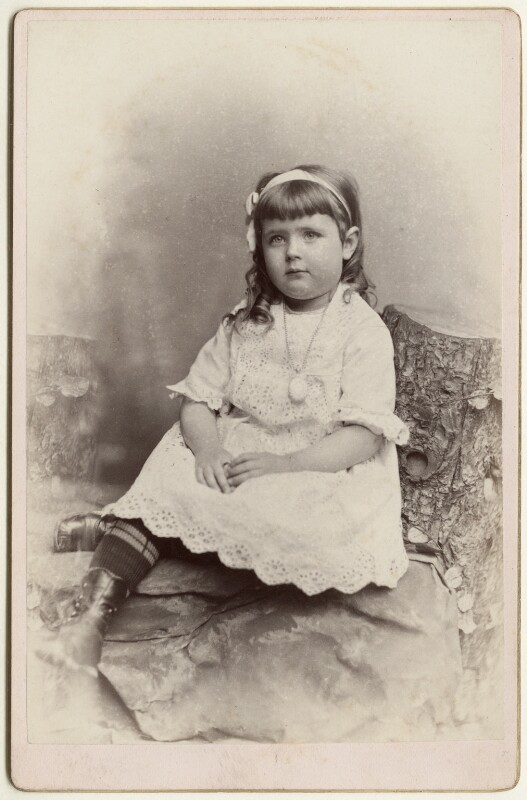 Effie Brook Armstrong, by Metcalf & Welldon (Weldon), March 1880 - NPG Ax128350 - © National Portrait Gallery, London