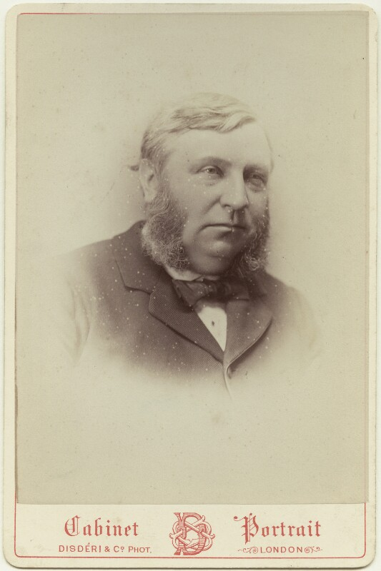 James Orrock, by Disdéri, 1870s - NPG x128448 - © National Portrait Gallery, London