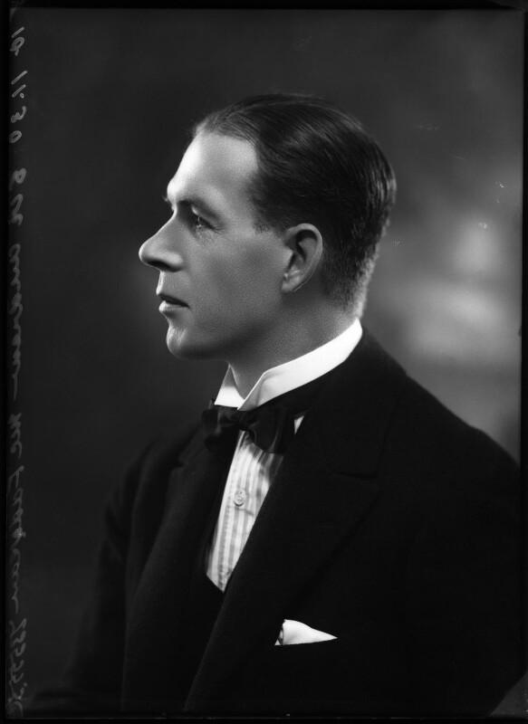 Sir Andrew McFadyean, by Bassano Ltd, 10 November 1930 - NPG x150219 - © National Portrait Gallery, London