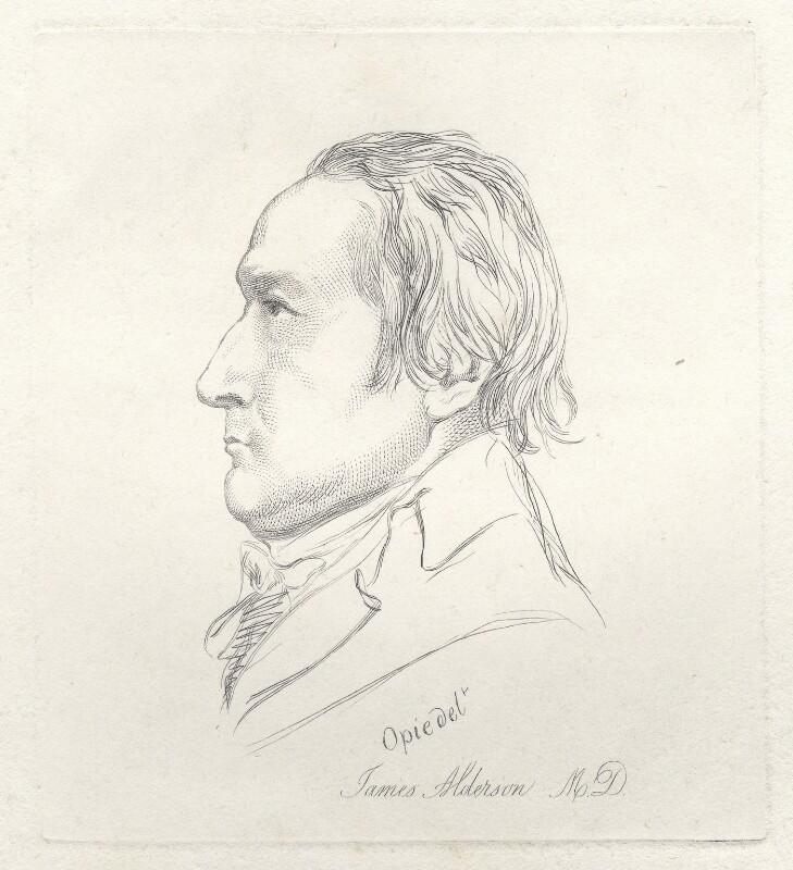James Alderson, by Mary Dawson Turner (née Palgrave), after  John Opie, (1800) - NPG D22558 - © National Portrait Gallery, London
