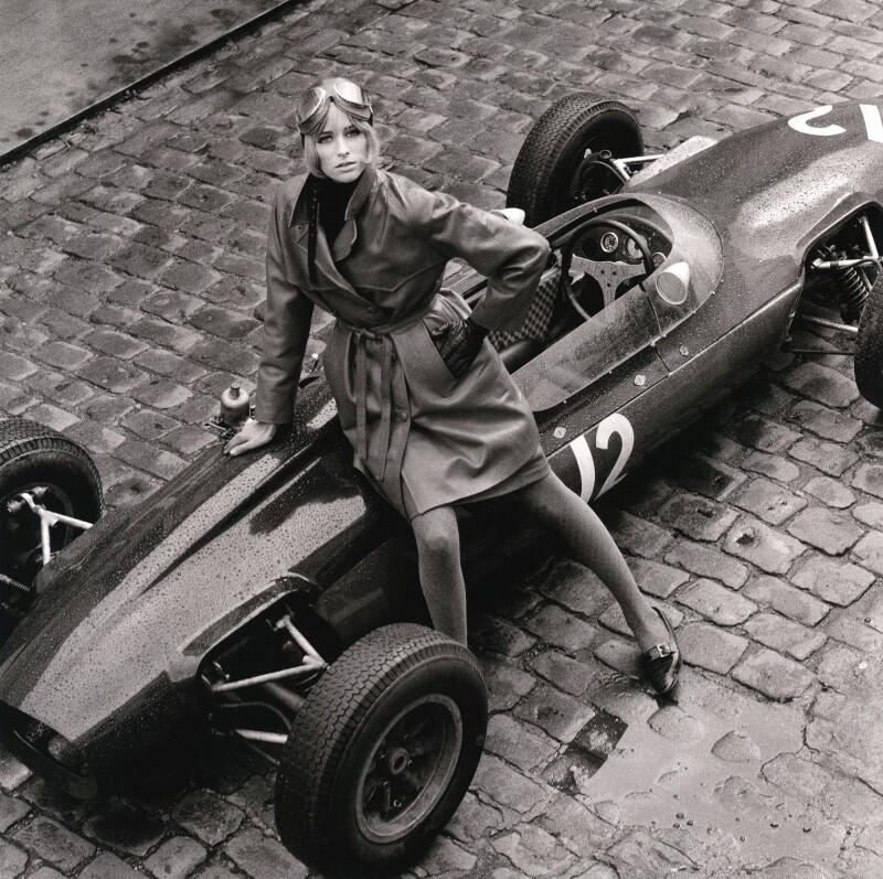 Jill Kennington, by Patrick Lichfield, September 1964 - NPG x128484 - © Lichfield