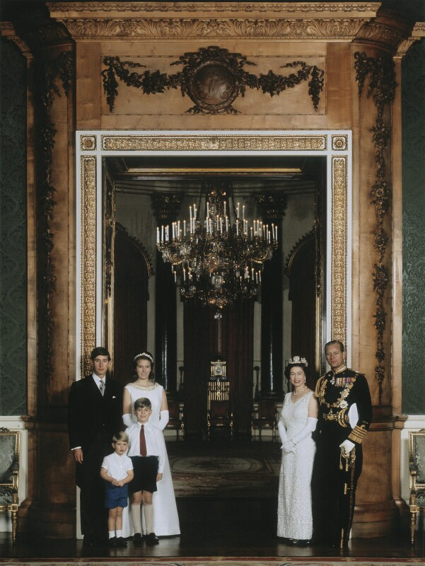 The Royal Family, by Thomas Patrick John Anson, 5th Earl of Lichfield, October 1967 - NPG x128494 - © Lichfield