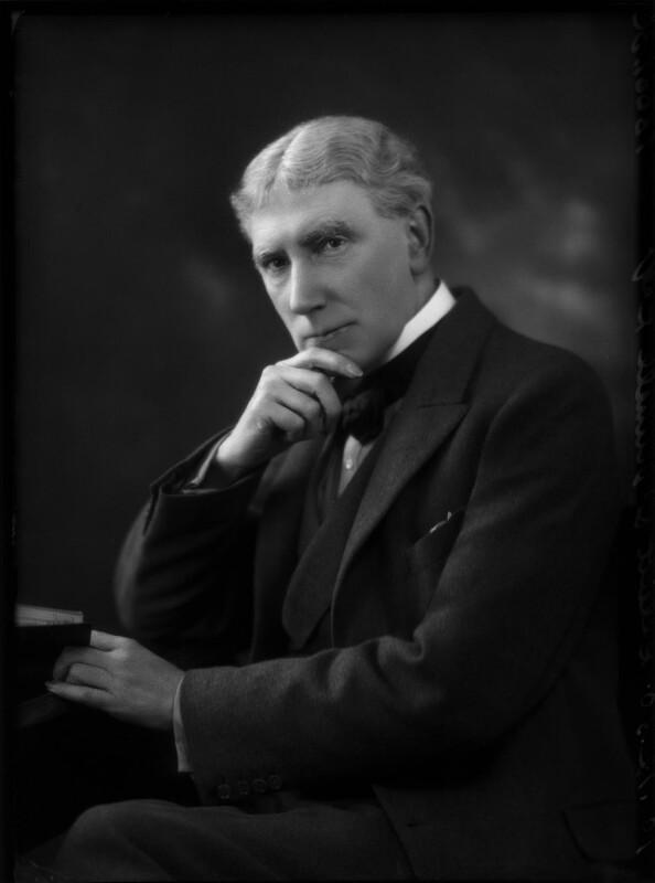 Elliott O'Donnell, by Bassano Ltd, 10 December 1930 - NPG x150252 - © National Portrait Gallery, London