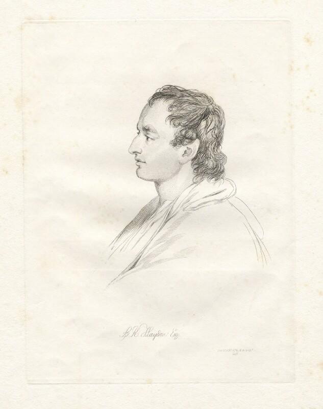 Benjamin Robert Haydon, by Mary Dawson Turner (née Palgrave), after  Sir David Wilkie, (1815) - NPG D22577 - © National Portrait Gallery, London