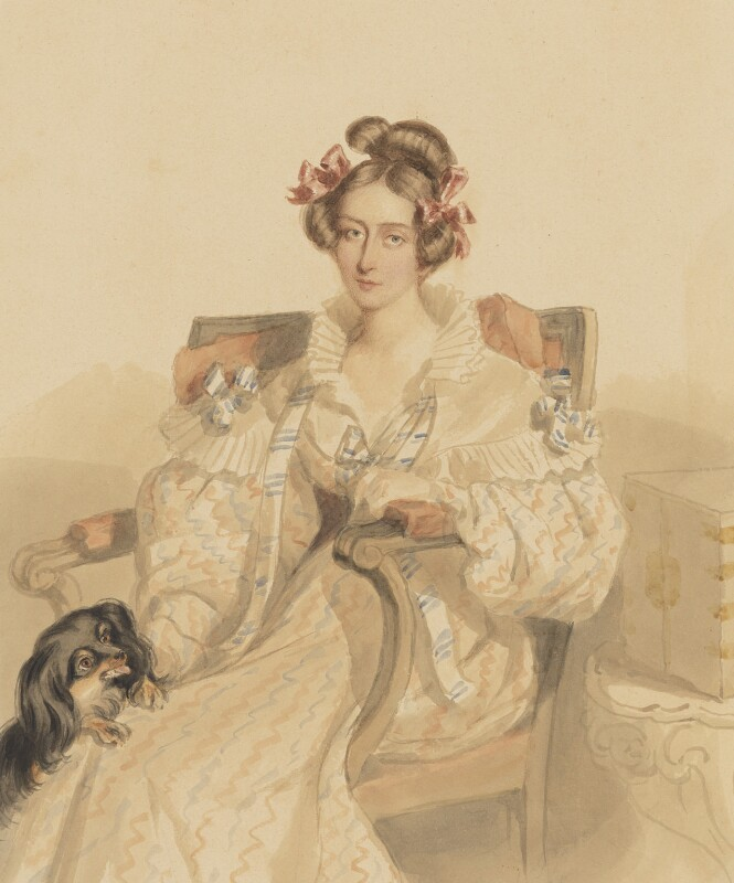 Emily Eden, by Simon Jacques Rochard, August 1835 - NPG 6455 - © National Portrait Gallery, London