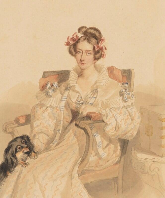 Emily Eden, by Simon Jacques Rochard, August 1835 - NPG 6455 - © National Portrait Gallery, London