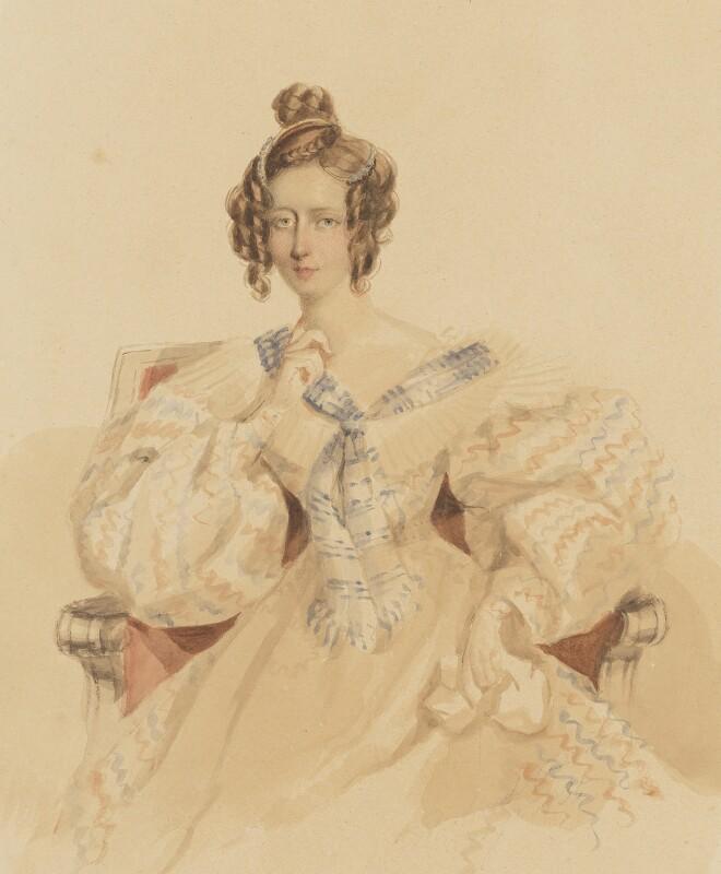 Frances Eden, by Simon Jacques Rochard, 1835 - NPG 6456 - © National Portrait Gallery, London