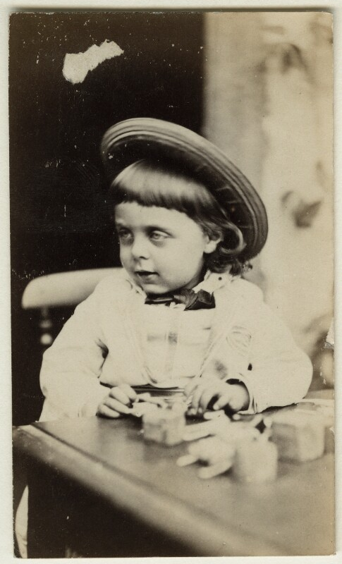 Eleanor Mary Hollyer, by Unknown photographer, mid 1870s - NPG Ax128304 - © National Portrait Gallery, London