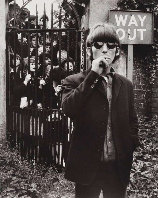 George Harrison, by Robert Whitaker, 1966 - NPG P735 - Photograph Robert Whitaker