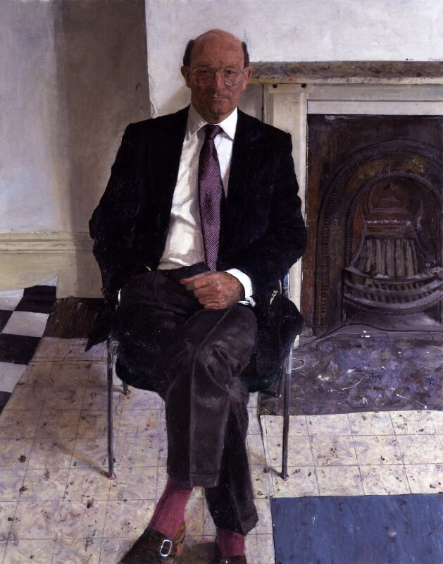 David Alec Gwyn Simon, Baron Simon of Highbury, by James Lloyd, 1998 - NPG 6442 - © National Portrait Gallery, London