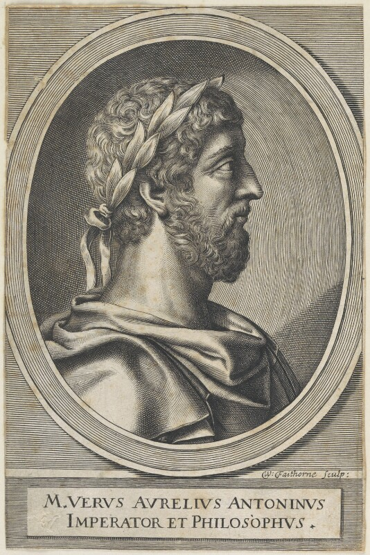 Marcus Aurelius, by William Faithorne, 1650s-1670s - NPG D22628 - © National Portrait Gallery, London