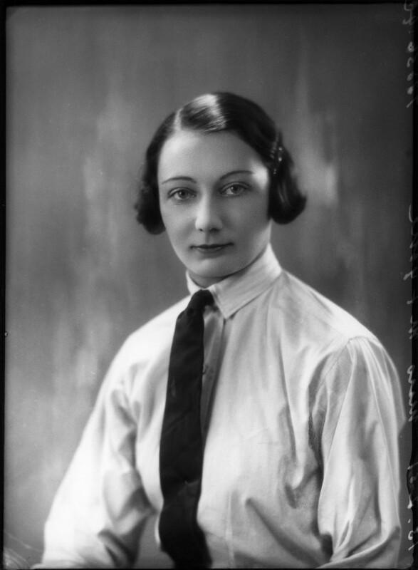 M.M. Fyshe, by Bassano Ltd, 13 February 1931 - NPG x150364 - © National Portrait Gallery, London