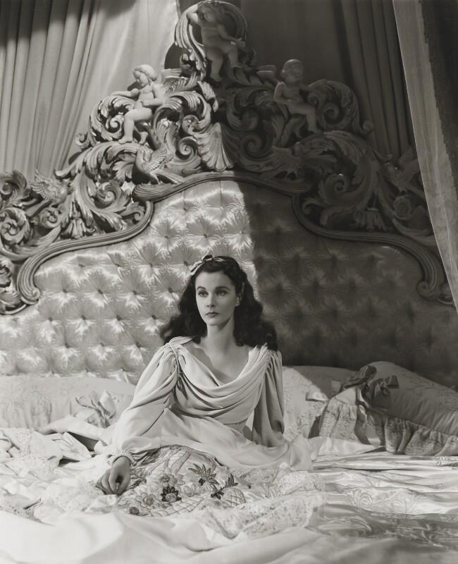 Vivien Leigh as Lady Hamilton in 'That Hamilton Woman', by Robert Coburn, or by  Laszlo Willinger, 1941 - NPG x128515 - © Laszlo Willinger / Kobal Collection