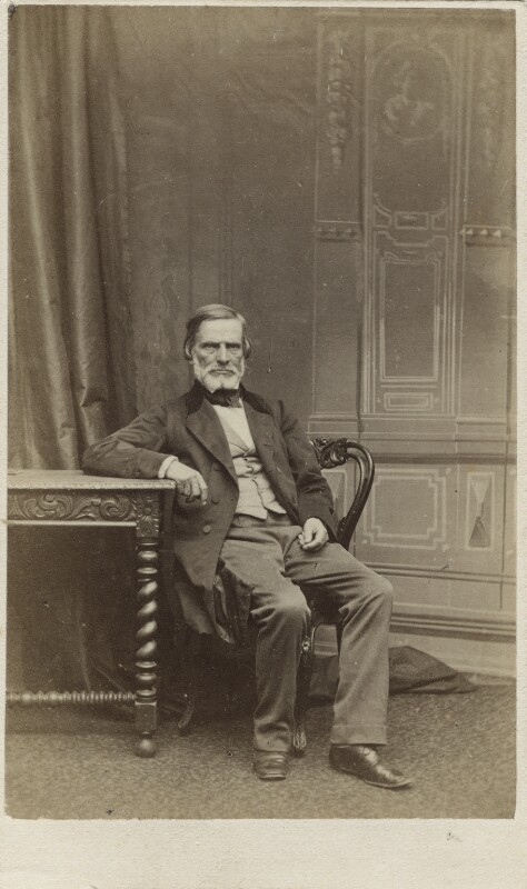 John Gibson, by Ferdinand Jean de la Ferté Joubert, 1860s - NPG Ax11922 - © National Portrait Gallery, London