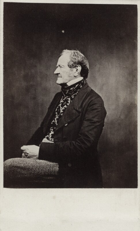 William Mulready, by Cundall, Downes & Co, after  Robert Howlett, 1860-1865 (circa 1858) - NPG Ax11914 - © National Portrait Gallery, London