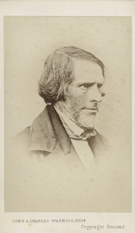 John Gibson, by John & Charles Watkins, 1860s - NPG Ax11935 - © National Portrait Gallery, London