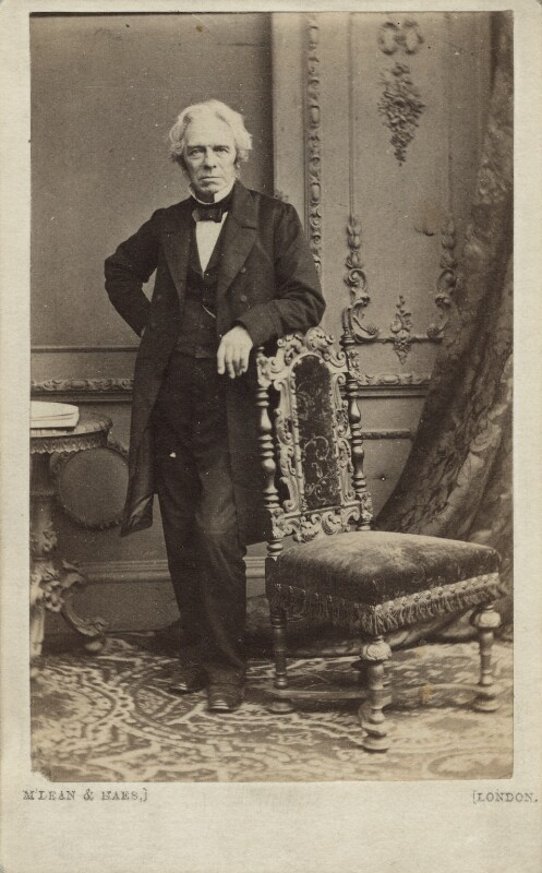 Michael Faraday, by McLean & Haes, 1863 - NPG Ax11937 - © National Portrait Gallery, London