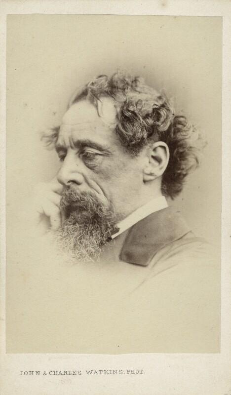 Charles Dickens, by John & Charles Watkins, September 1863 - NPG Ax11944 - © National Portrait Gallery, London