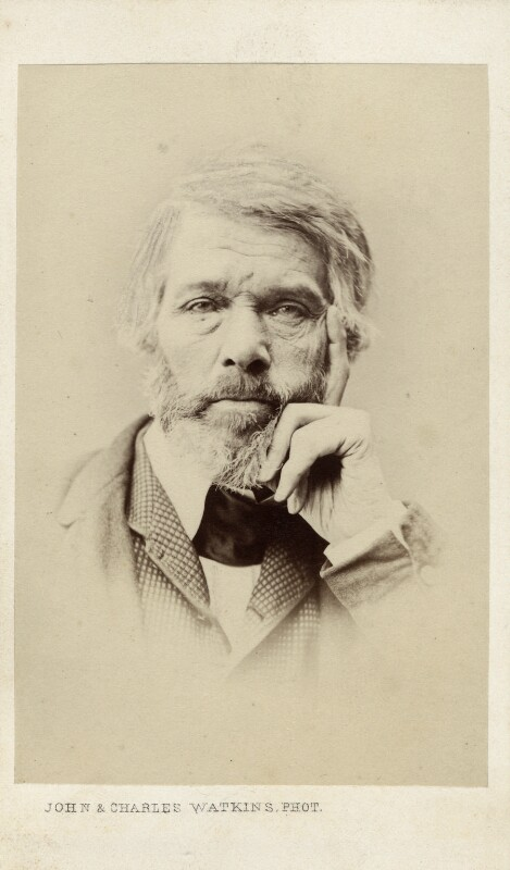 Thomas Carlyle, by John & Charles Watkins, 1860s - NPG Ax11945 - © National Portrait Gallery, London