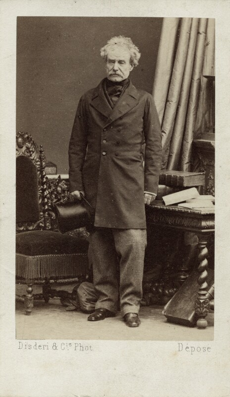 Colin Campbell, 1st Baron Clyde, by Disdéri, early 1860s - NPG Ax11946 - © National Portrait Gallery, London