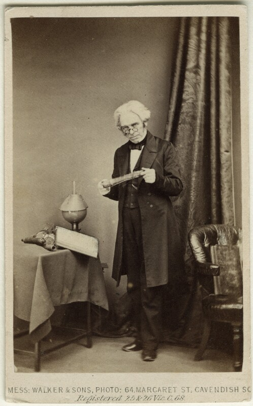 Michael Faraday, by William Walker & Sons, 1863 - NPG Ax11953 - © National Portrait Gallery, London