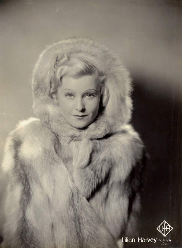 Lilian Harvey (née Helene Lilian Muriel Pape), for Universum Film A.G. (UFA), 1937 - NPG x128516 - © National Portrait Gallery, London