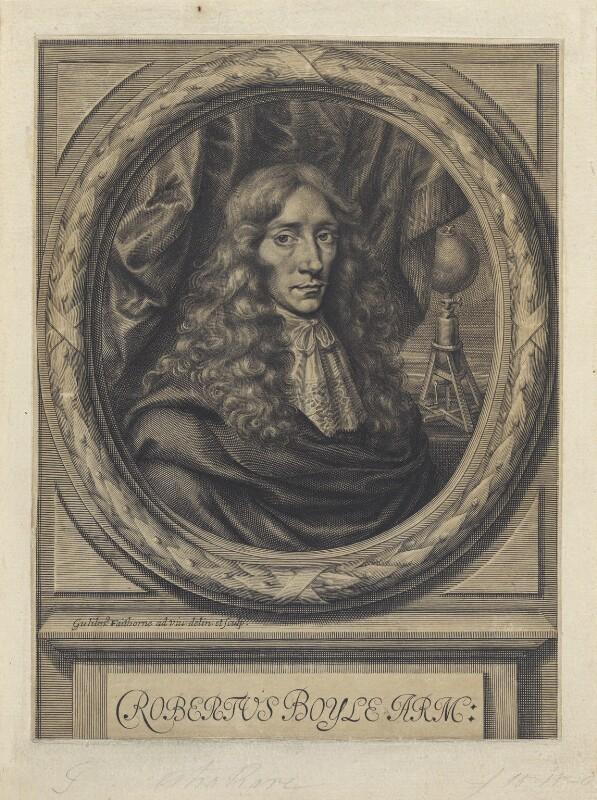 Robert Boyle, by William Faithorne, 1664 - NPG D22648 - © National Portrait Gallery, London