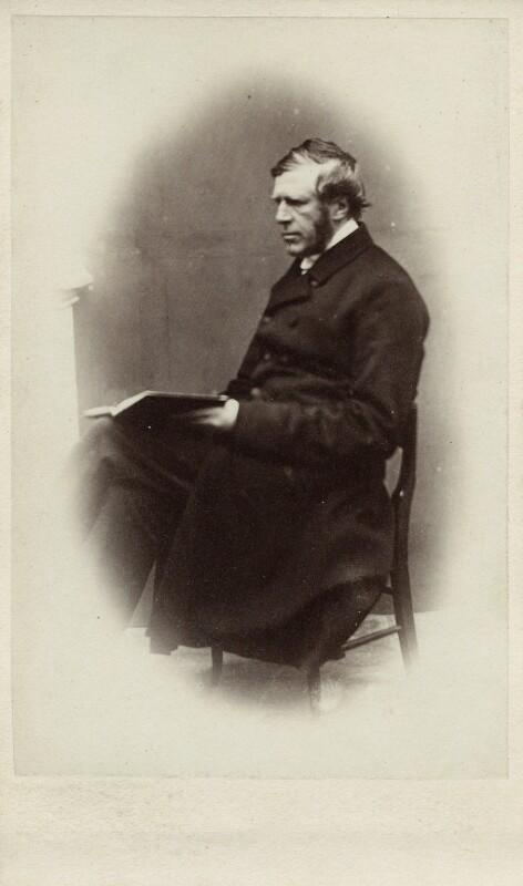Thomas Legh Claughton, by E. Harrison, 1860s - NPG Ax11951 - © National Portrait Gallery, London