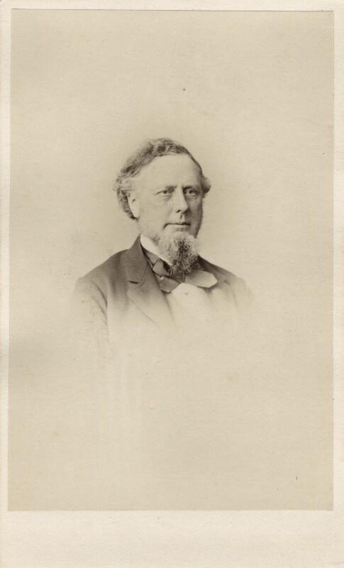 Sir Richard Paul Amphlett, by Thomas Richard Williams, 1860s - NPG Ax39743 - © National Portrait Gallery, London