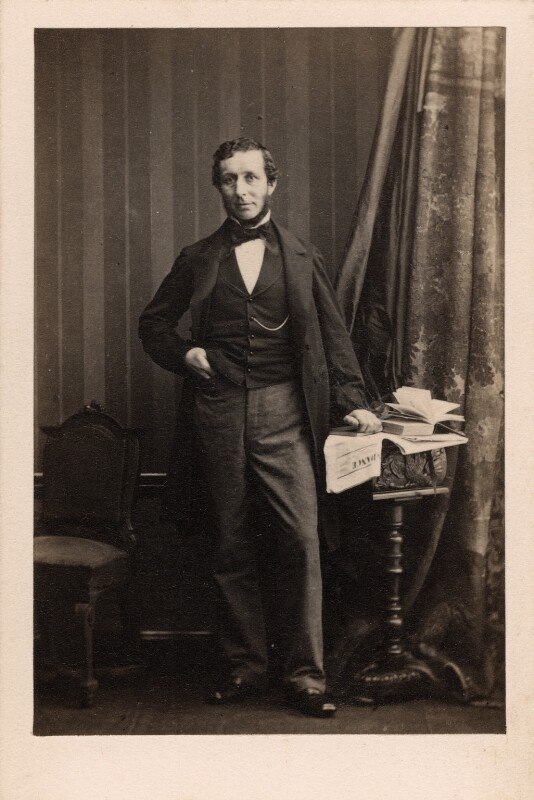 Henry Trail Erskine, by Camille Silvy, 14 May 1861 - NPG Ax39765 - © National Portrait Gallery, London