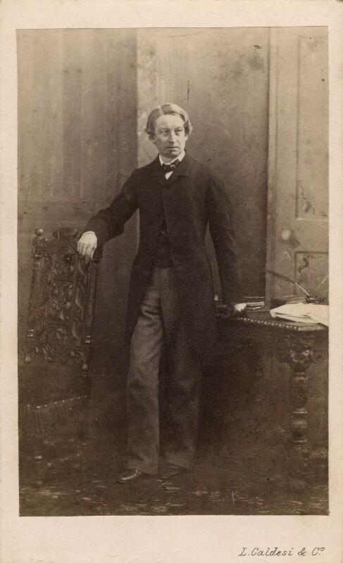 Charles Beavan, by Leonida Caldesi, 1860s - NPG Ax39755 - © National Portrait Gallery, London