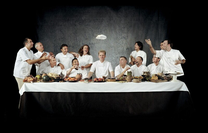 Chefs' Last Supper, by John Reardon, 2003 - NPG P1121 - © John Reardon