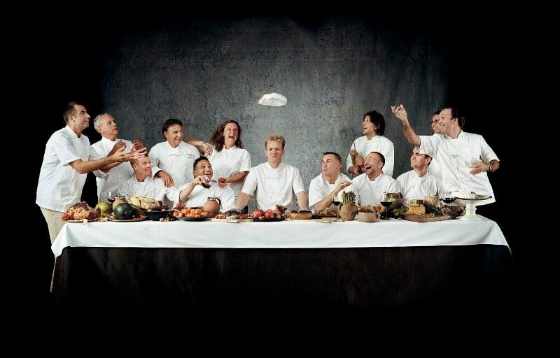 Chefs' Last Supper, by John Reardon, 2003 - NPG P1121 - © John Reardon