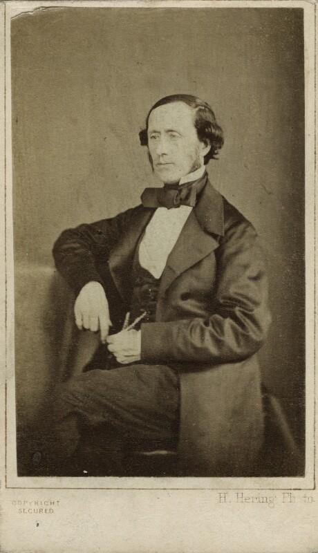 Sir William Sterndale Bennett, by Henry Hering, 1862 - NPG x76505 - © National Portrait Gallery, London