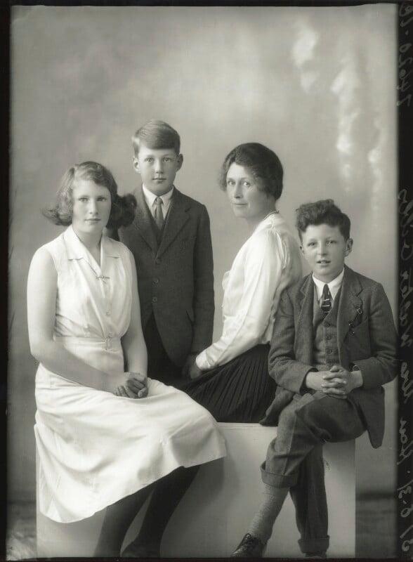 The Gibbs family, by Bassano Ltd, 31 August 1931 - NPG x150602 - © National Portrait Gallery, London