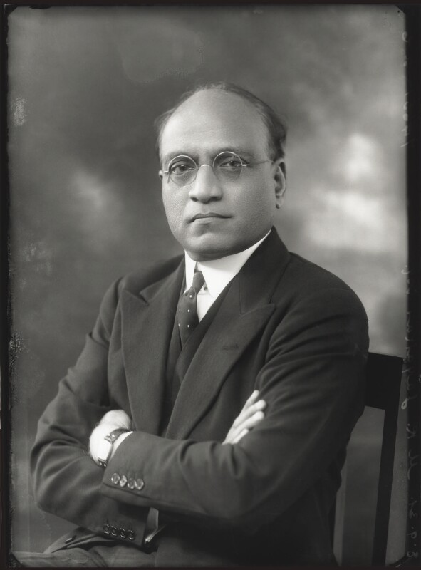 Mukund Ramrao Jayakar, by Bassano Ltd, 8 September 1931 - NPG x150607 - © National Portrait Gallery, London