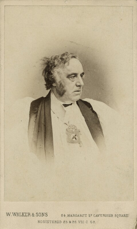 Richard Chenevix Trench, by William Walker & Sons, 1862-1866 - NPG x27047 - © National Portrait Gallery, London