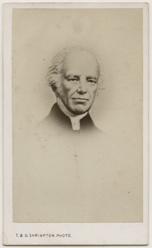 John Keble, by Thomas & George Shrimpton, after  Unknown artist, 1860s - NPG Ax17802 - © National Portrait Gallery, London