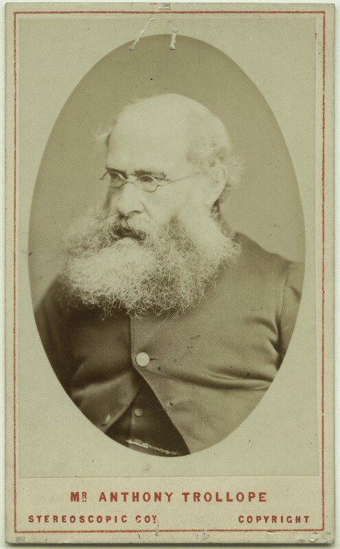 Anthony Trollope, by London Stereoscopic & Photographic Company, 1870s - NPG x12820 - © National Portrait Gallery, London