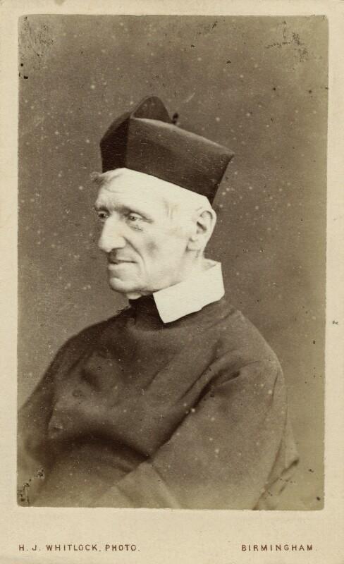 John Newman, by Henry Joseph Whitlock, 1860s - NPG Ax28412 - © National Portrait Gallery, London