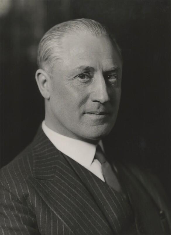 Sir William Jock Whitworth, by Bassano Ltd, 8 March 1937 - NPG x85764 - © National Portrait Gallery, London
