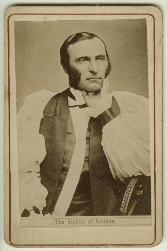 Frederick Temple, by Unknown photographer, 1870s - NPG x12992 - © National Portrait Gallery, London