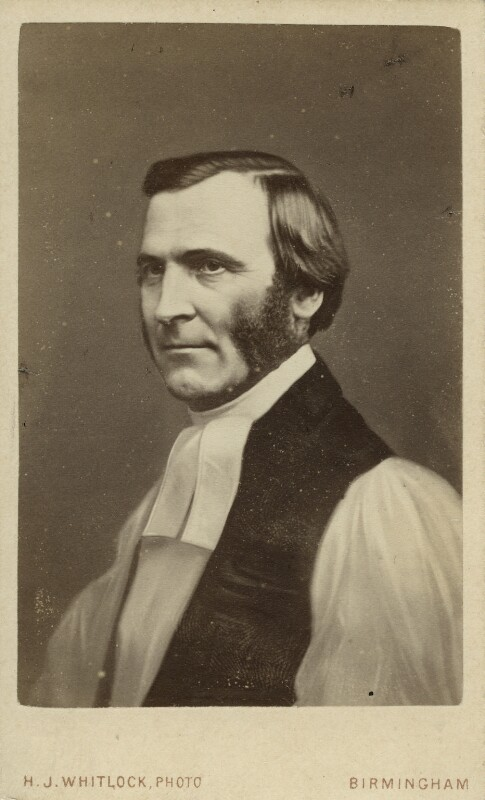 Frederick Temple, by and after Henry Joseph Whitlock, circa 1867 - NPG x12987 - © National Portrait Gallery, London