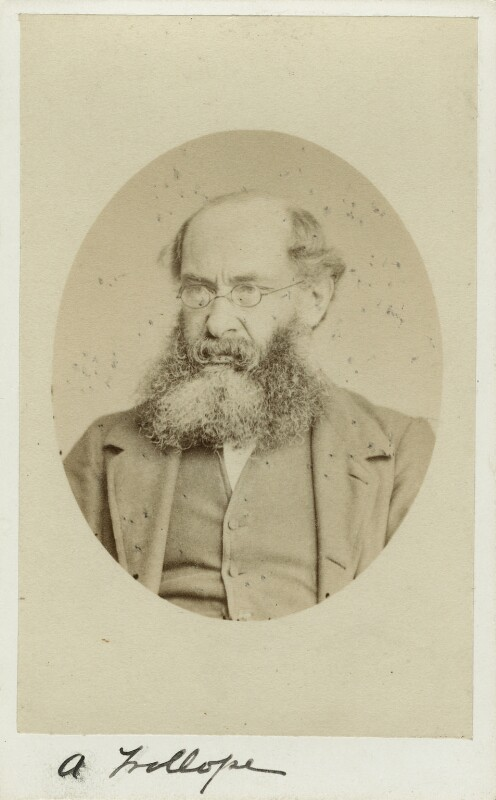 Anthony Trollope, by Marcus Ward & Co, 1860s - NPG x12819 - © National Portrait Gallery, London