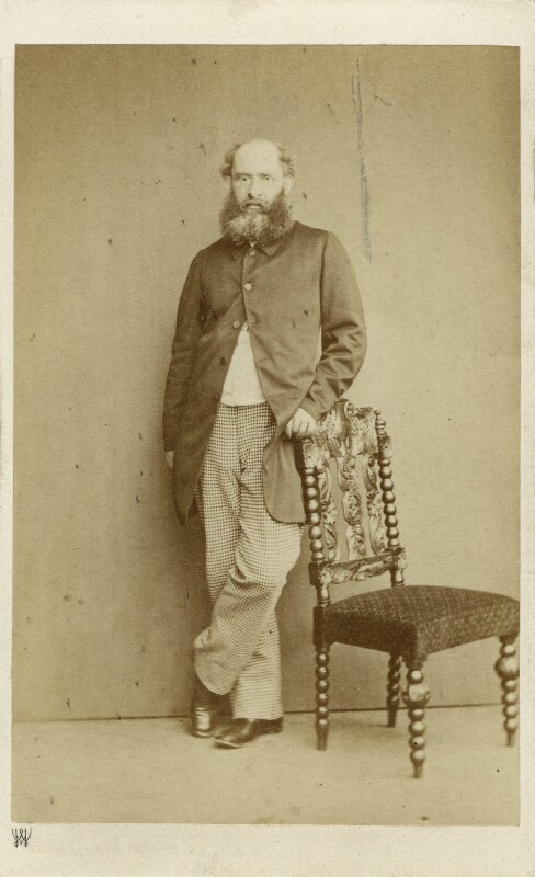 Anthony Trollope, by Herbert Watkins, 1860s - NPG x32949 - © National Portrait Gallery, London