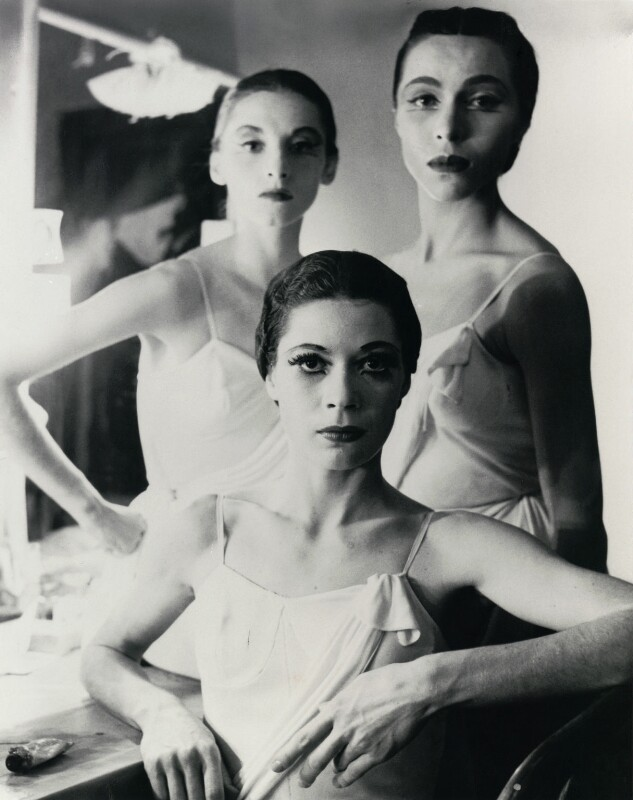 Ballerinas at the New York City Ballet (Diana Adams; Maria Tallchief; Tanaquil Leclercq), by Norman Parkinson, May 1952 - NPG x128544 - © Norman Parkinson Archive