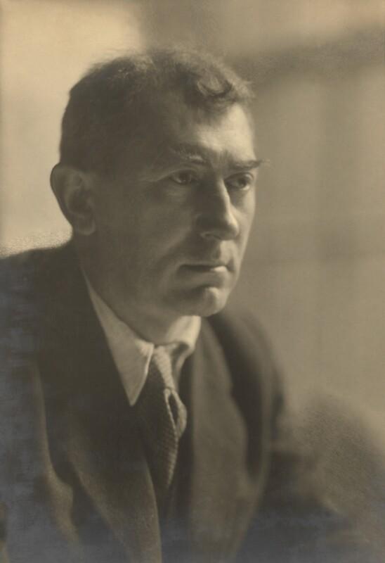 Sir John Collings Squire, by Walter Benington, for  Elliott & Fry, early 1930 - NPG x94122 - © National Portrait Gallery, London