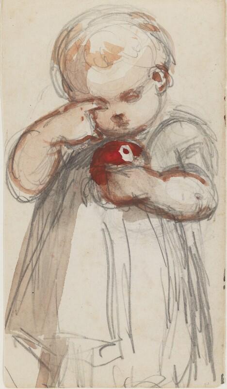 Unknown child, by Louisa Anne Beresford, 19 June 1887 - NPG D23146(2) - © National Portrait Gallery, London